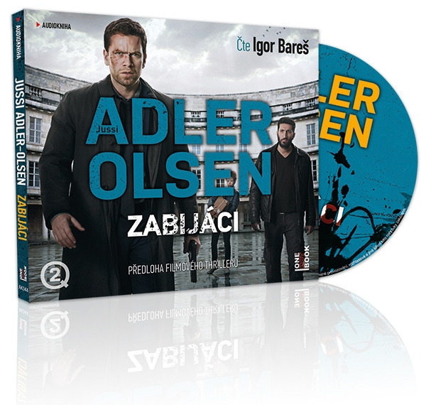 Zabijaci_audiokniha_Olsen_3Dmodel_OneHotBook