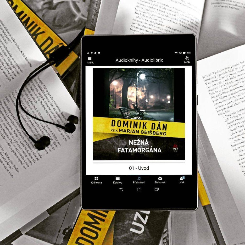 Vyšel další případ Richarda Krauze a kriminálky Našeho města.... Něžná fatamorgána je navíc dostupná i v audiu, kterou si opět vzali na starost @publixing a Marián Geišberg ;) #audiobook #slovak #dominikdan @slovart_vyd #cteniusima #newbook #listening #krimi #crime #newbook #bookstagram #booktip #instabook #bookaholic @audiolibrix