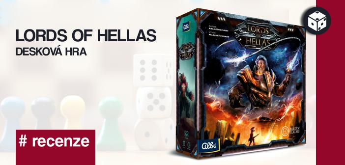 Lords of Hellas – desková hra