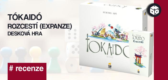 Tókaidó + Rozcestí – Desková hra
