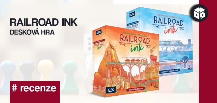 Railroad Ink – desková hra