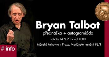 Bryan Talbot vPraze