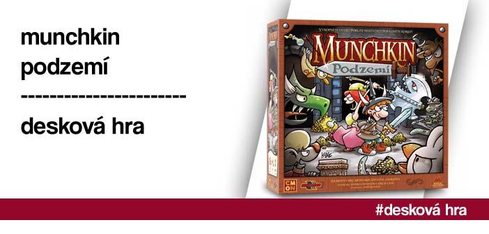 Munchkin: Podzemí – desková hra