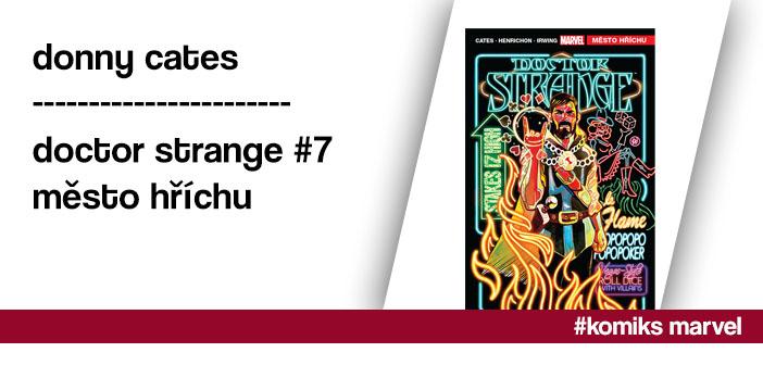 Donny Cates – Doctor Strange #7: Město hříchu