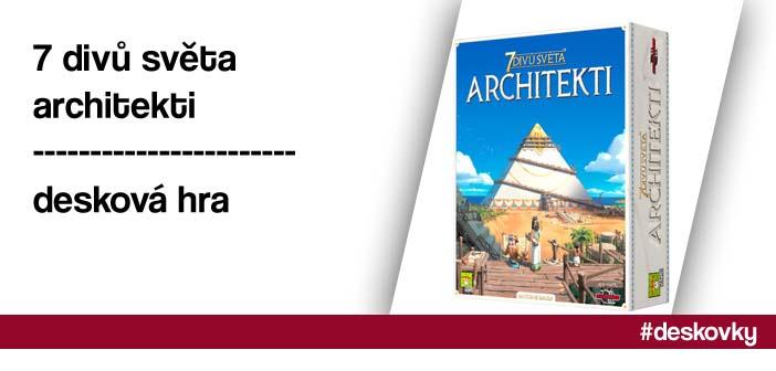 7 divů světa: Architekti – desková hra